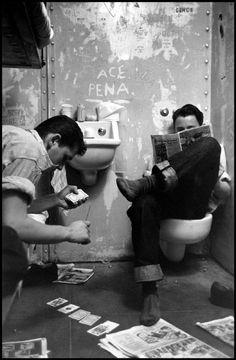 Alameda County Juvenile Hall San Leandro, California 1953.  Wayne Miller.