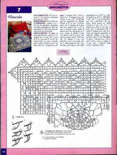 Kira scheme crochet: Scheme crochet no. 1058
