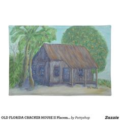 OLD FLORIDA CRACKER HOUSE II Placemat
