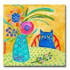 Tascha Parkinson blue cat