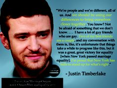 A quote by Justin Timberlake.