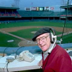 The Voice of the Tigers- The Legendary Ernie Harwell - grew up listening to baseball games with my Dad, and Ernie :)