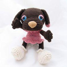 Amigurumi, Crochet and Dogs on Pinterest