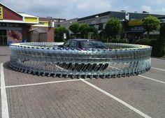 Twitter / Regular_size: 無断駐車は許さない!という店側の強い気持ちが伝わりました。