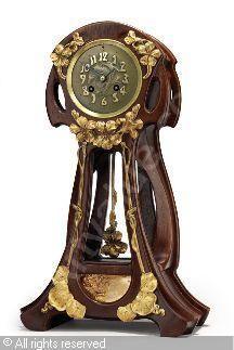 MAJORELLE Louis - Pendule Art Nouveau