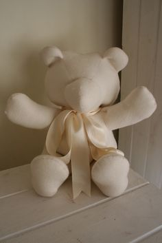 teddy bear -free tutorial