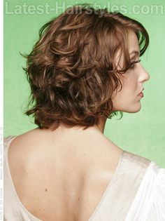 Medium hairstyles for curly hair