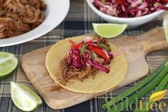 Slow Cooker Chipotle Lime Brisket Tacos - and - Jicama slaw -- both use chipotle lime rub