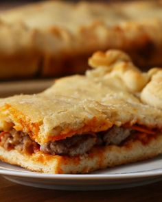 Sheet Pan Calzone Recipe by Tasty Pizza Recipes, Snack Recipes, Dinner Recipes, Cooking Recipes, Snacks, Italian Dishes, Italian Recipes, Great Recipes, Favorite Recipes