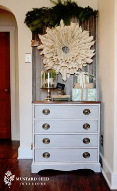 Love what they did to this dresser!