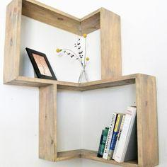 Découvrez notre sélection d'étagères d'angle design et pratiques! - IDEO