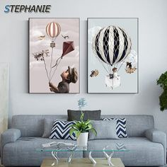 """""""Abstract Fairy Tales World Travel Canvas Painting Cartoon Posters Prints Funny Wall Art Pictures for Living Room Children Decor"""" Living Room Pictures, Wall Art Pictures, Wall Art Prints, Poster Prints, Canvas Prints, Funny Wall Art, Cartoon Posters, Abstract Wall Art, Kids Decor"""