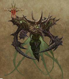 Diablo 3 belial lord of lies concept art