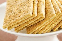 Despite the name, Graham Crackers are a type of biscuit. They have a wholemeal base. Substitute with Digestives or try Superwine or Girl Guide – Simon Gault – bite.co.nz