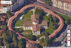 Rotonda della Besana, designed by Francesco Croce in 1732 in #Milan in #Italy #baroque #architecture