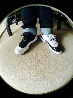 Air Jordan 11 low reverse/concords