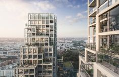 Kjellander+Sjöberg Wins Competition For a New Sustainable Landmark in Sweden