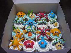 under the sea cupcake ideas | Under the Sea Cupcakes | Flickr - Photo Sharing!