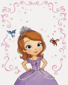 Alfabeto de la Princesa Sofía. | Oh my Alfabetos!
