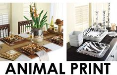 Animal Print Party Decorations NEW! : Wholesale Wedding Supplies, Discount Wedding Favors, Party Favors, and Bulk Event Supplies