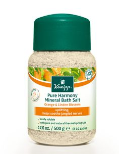 Kneipp Pure Harmony Mineral Bath Salt with Orange & Linden Blossom is like a summer getaway during these chilly-wet-dark winter days.