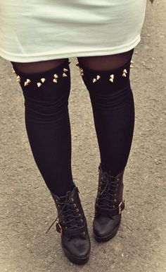Studded socks