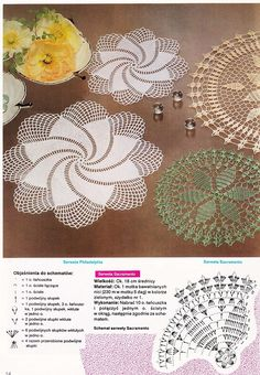 World crochet: Motive 158 Crochet Doily Diagram, Crochet Motif Patterns, Crochet Lace Edging, Crochet Squares, Love Crochet, Crochet Doilies, Crochet Flowers, Doily Art, Crochet Dreamcatcher