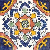 """Decorative Mexican Tiles Delectable Mexican Tiles """"celaya""""  Bathroom Showers Showers And Bathroom Decorating Inspiration"""
