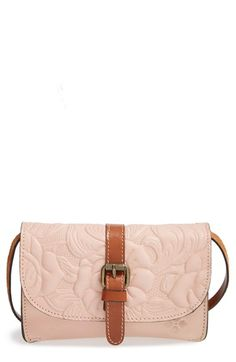 Patricia Nash 'Tooled Rose - Torri' Italian Leather Crossbody Bag available at #Nordstrom