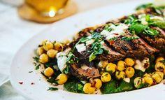 Recipe: BBQ Steak with Chickpea Salad | Gram Magazine