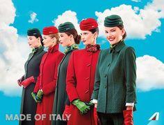 Alitalia le nuove divise disegnate da Bilotta - Elite Made in Italy