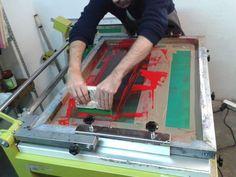 Screen Printing Process, Graphic Design Print, Barcelona, Facebook, Prints, Barcelona Spain