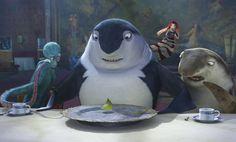 Pictures & Photos from El espantatiburones - IMDb Disney Pixar, Disney Characters, Fictional Characters, Shark Tale, Movie Guide, Shark Week, Movie Theater, Dreamworks, Good Movies