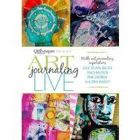 Art Journaling LIVE 2013: Learn New Art Journal Techniques   InterweaveStore.com $39.99