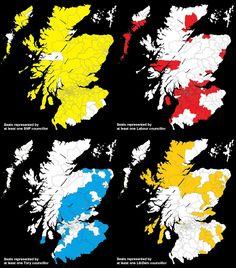A fascinating picture of local politics in Scotland.