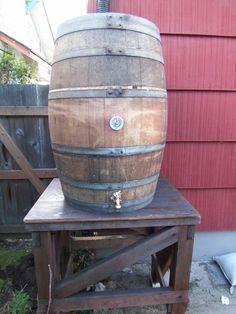 From Wine Barrels to Rain Barrels