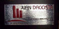 Logotipo, de construcciones inmobiliarias, Juan Dacosta.