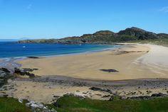 Kiloran Bay on the Isle of Colonsay Scotland