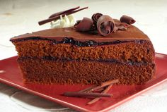 Čokoladna torta s mentom i borovnicama — Coolinarika Chocolate Roll, Chocolate Recipes, After Eight Chocolate, Desert Recipes, Sweet Life, Cake Recipes, Sweet Treats, Deserts, Good Food