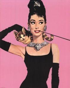 Audrey-Hepburn - Pink