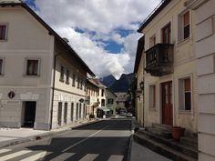 Bovec ve městě Slovenija