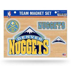 Denver Nuggets Team Magnet Set, Multicolor