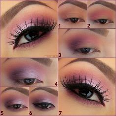 Up for some soft pink eye make-up ?