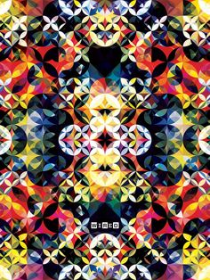 Wired UK iPad by Andy Gilmore Kaleidoscopic #illustration