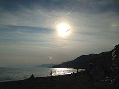 besugo beach, Liguria