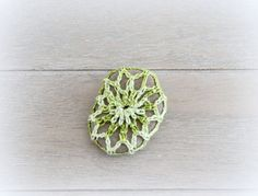 Grey and green by Hili on Etsy