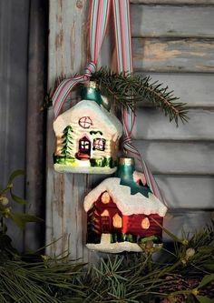 Little winter houses.....