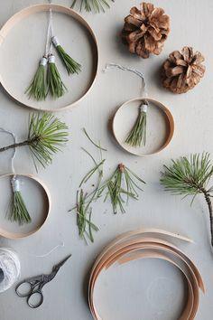 Hej Hanse: Basteln im Advent: Schlichte Weihnachtsdeko aus Naturmaterialien