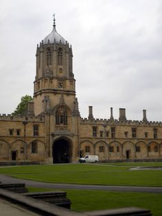 Christ Church, Oxford: the staircase that the first years walk up in Philosopher's Stone as well as the first of many dining halls that would serve as inspiration for the Hogwarts Great Hall