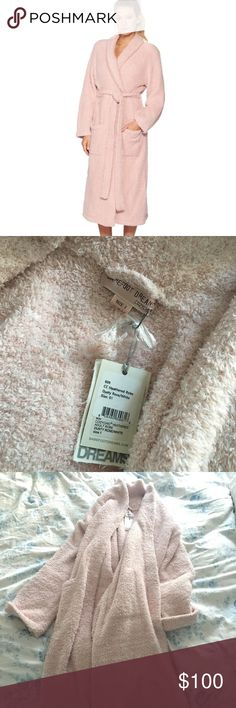 BRAND NEW Barefoot Dreams CozyChic Robe !!! 💗 NEVER worn tags on! Color: Dusty Rose. Size: 1. softest robe you will ever feel !! ❤️ Barefoot Dreams Intimates & Sleepwear Robes
